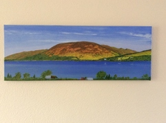 Loch Earn from Briar Cottage Acryclic