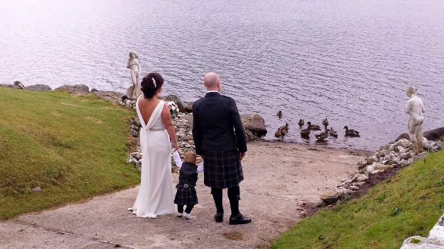 Wedding Loch Earn