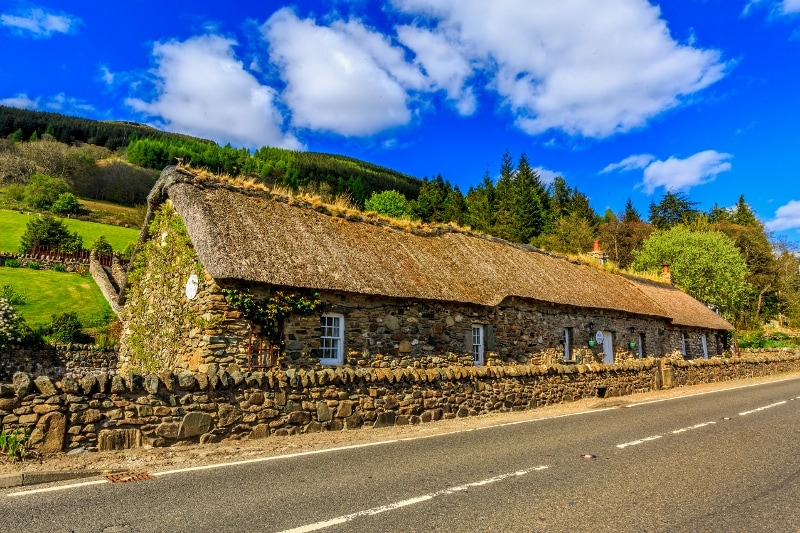 Briar Cottages Lochearnhead photo by Dave Murray