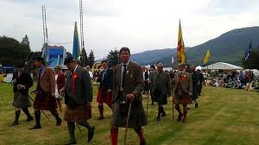 BLS Highland Games march of the committee