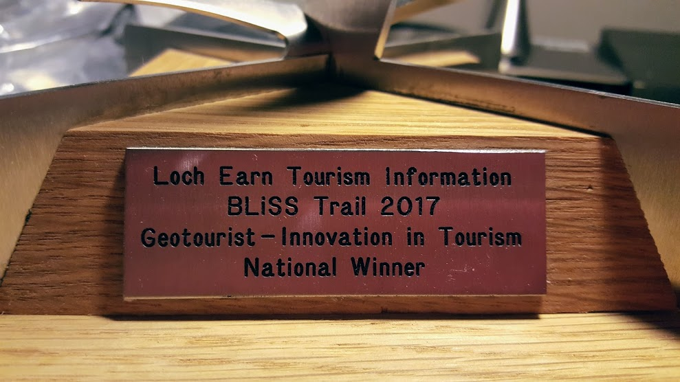Loch Earn Tourism Inforamtion Trophy #Thistles25