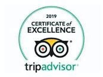 Briar Cottages Certificate of Excellence 2019 from TripAdvisor